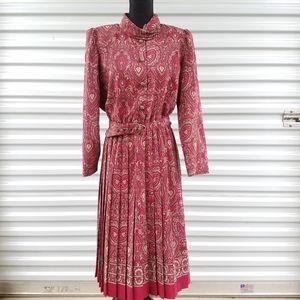 Vintage  80 's Leslie Fay dress